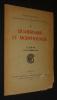 Colloques nationaux du Centre National de la Recherche Scientifique, 4 : Quaternaire et morphologie (Lyon, 11-13 octobre 1952). Collectif