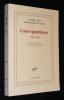 Correspondance, 1944-1958. Camus Albert, Gard Roger Martin du