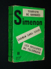 Simenon, n°11 : Touriste de bananes - Chemin sans issue - Les Rescapés du Télémaque. Simenon Georges