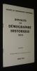 Annales de démographie historique, 1974. Extrait. Molinier A.