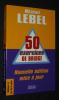 50 Exercices de bridge. Lebel Michel