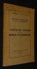 L'Agriculture ivoirienne et les impératifs de la modernisation (Edition du Bulletin de Liaison,supplément n°2, mars 1962). Collectif