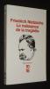 La Naissance de la tragédie. Nietzsche Friedrich