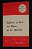 Eglises et état en Alsace et Moselle. Franck B., Hiebel J.-L., Le Léannec B., Messner F., Schlick J., Wahl A., Woehrling J.-M., Zimmermann M.