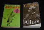Lot de 2 ouvrages : La Logique mène à tout : les 150 meilleurs contes d'Alphonse Allais / Alphonse Allais, biographie par François Caradec (2 ...