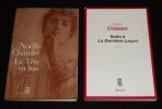 Lot de 2 ouvrages de Noëlle Châtelet : La Tête en bas - Suite à 'La Dernière Leçon' (2 volumes). Châtelet Noëlle