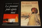 Lot de 2 romans de Jacques Attali : Le Premier Jour après moi - La Confrérie des éveillés (2 volumes). Attali Jacques