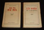 Lot de 2 ouvrages de Jacques Boulenger : Au fil du Nil - Les Soirs de l'archipel (2 volumes). Boulenger Jacques