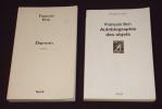 Lot de 2 romans de François Bon : Daewoo - Autobiographie des objets (2 volumes). Bon François