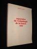 Répertoire de l'ethnologie de la France, 1982. Langlois Christine