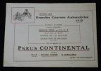 Publicité Pneus Continental. Collectif