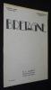 Bretagne (treizième année - n°113, janvier-février 1934). Collectif, Aubert O.-L.