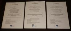 Paolo Portoghesi et la voie post-moderne : le débat architectural dans l'Italie de la seconde moitié du XXe siècle (3 volumes). Chavardes Benjamin