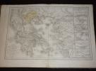 Atlas de géographie historique, dressé pour servir à l'intelligence de l'histoire ancienne. Poulain de Bossay P. A.
