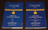 A Dialogue concerning Heresies, Part I & II (The Yale Edition of the Complete Works of St; Thomas More, Volume 6) (2 volumes). Lawler Thomas M. C., ...