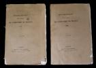 Annuaire-bulletin de la société de l'Histoire de France, 1965-1866 (2 volumes). Collectif