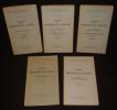 Leçons sur la philosophie de la religion (5 volumes). Hegel G.W.F.