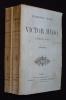 Victor Hugo après 1830 (2 volumes). Biré Edmond