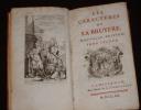 Les Caractères de La Bruyère. Nouvelle édition. Tome 2. La Bruyère