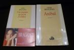 Anne Bragance  (lot de 2 ouvrages). Bragance Anne