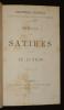 Satires - Le Lutrin / Histoire de Manon Lescaut (Collection des meilleurs auteurs anciens et modernes). Abbé Prévost, Boileau Nicolas