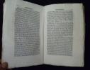 Dictionnaire topographique, historique et statistique de la Sarthe (tome 3). Pesche J.R.