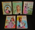 Lot de 5 romans : Sissi petite reine - Sissi et le fugitif - Sissi jeune fille - Sissi impératrice - Sissi face à son destin (5 volumes). Ferry ...
