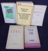 Jacques Lanzmann (lot de 6 ouvrages). Lanzmann Jacques