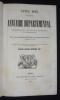 Année 1845. Annuaire départemental, administratif, historique, industriel et statistique, suite à la collection séculaire des almanachs de Lyon, ...