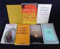 Madeleine Chapsal (lot de 7 ouvrages). Chapsal Madeleine