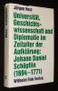 Universität, Geschichtswissenschaft und Diplomatie im Zeitalter der Aufklärung: Johann Daniel Schöpflin (1694-1771). Voss Jürgen