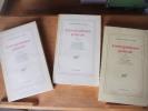 Correspondance générale vol. 1-2-3. MARTIN DU GARD, Roger