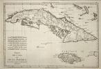 Isles de Cuba et de la Jamaïque. (Bonne)