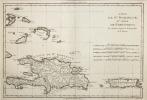L'Isle de St Domingue, et celle de Porto-Rico. (Bonne)