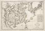 Empire de la Chine, Royaume de Corée et Isles du Japon. (Bonne)