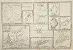 Isles de Wallis, Turtle, Des Cocos, des Traîtres, Palmerston, Sauvage, d'Hervey, Pitcairn, de Pasques et Esquisse de la Baye Dusky, dans la ...