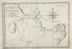 Carte de l'Entrée de Norton et du Détroit de Bhéring, où l'on voit le Cap le plus Oriental de l'Asie, et la pointe la plus Occidentale de l'Amérique. ...