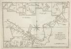 Détroit de Magellan, avec les Plans des principaux Ports, Baies &c de ce détroit.. (Bonne)