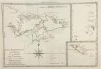 Isles Maidenland, de Hawkins, et le Détroit de Fakland. Ces Isles sont nommées Malouines par les François.. (Bonne)