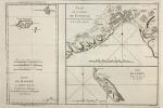 Isles de Madère, de Porto Santo, et celles des Salvages.Plan de la Rade de Funchal (Extrait du Voyage de la Louisiane, du P. Laval).Isle de Gorée, ...