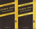 Charlie Chan.Oeuvre intégrale. 1ère et 2ème parties.La maison sans clef - Derriere ce rideau - Le chameau noir - Le perroquet chinois - Charlie Chan a ...