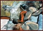 Le Peintre émeutier Thierry Faure. Thierry Faure