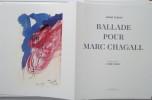 Ballade pour Marc Chagall. André Verdet