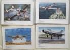 Gravures d'avions Aéro 1918 - 1988. AERO 1918 - 1988