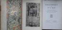 Catalogue de vente, manuscrits à miniatures, livres à figures, riches reliures anciennes. Bibliothèque de Mme Th. BELIN