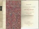 TAXE DES LETTRES ET CREATION DES TIMBRES-POSTE. DE ROTHSCHILD Arthur
