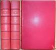 OEUVRES, précédées d'une notice biographique en 2 volumes. BILLAULT M.