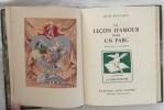 LA LECON D'AMOUR DANS UN PARC. BOYLESVE René – CLAUSS L.
