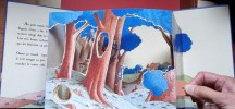 Une Nuit dans la Forêt – Pop up – Livre en 3D. BERTRAND Philippe