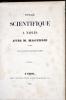 Voyage scientifique à Naples avec M. Magendie en 1843.    . JAMES (Constantin).